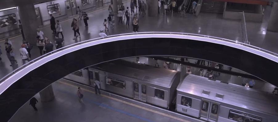 Les Trains  Remetente: Gustav Gu e Flávio Gusmão